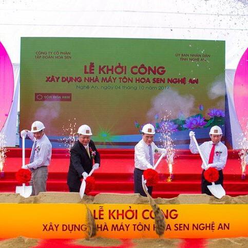 le-khoi-cong-nha-may-ton-hoa-sen
